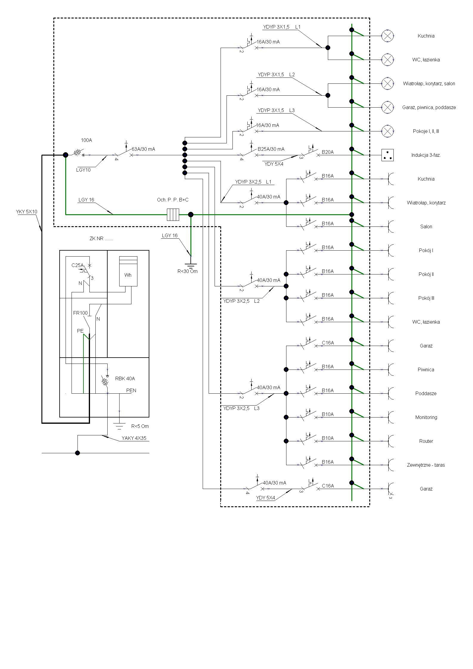 Isepl Schemat Instalacji Elektrycznej Przykład Zasilania Domu